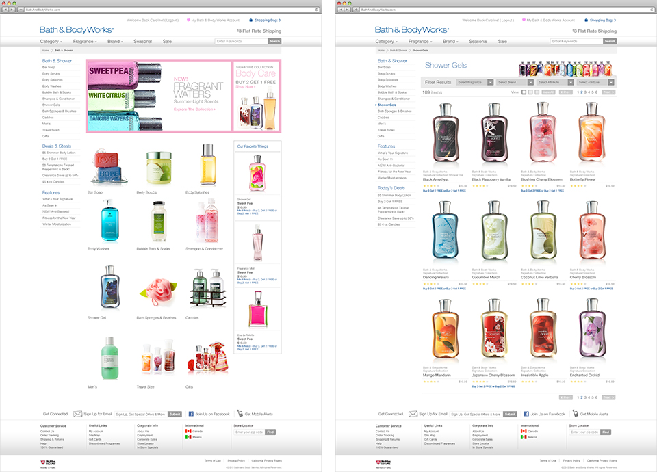 ProjectSlide Bath and Body Works Redesign 03